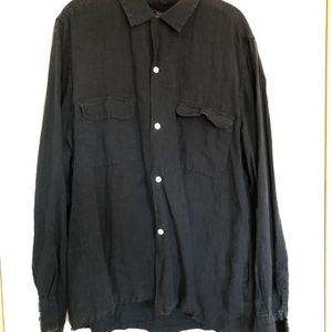 Beams Plus Long Sleeve Linen Shirt